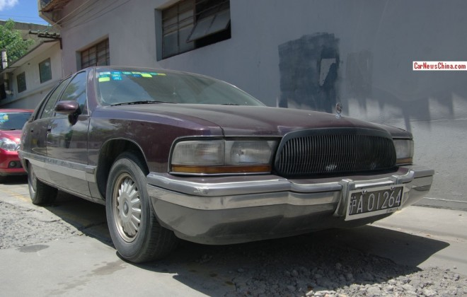 Spotted in China: Buick Roadmaster Limited sedan