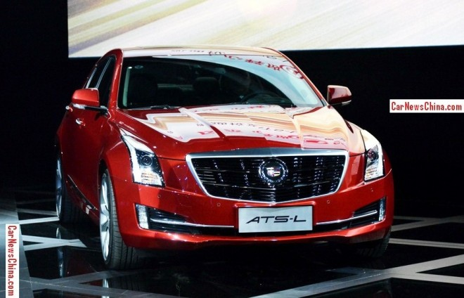 Cadillac ATS-L hits the China car market