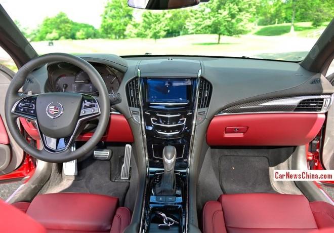 Cadillac Ats Red Interior
