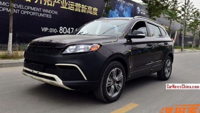 Spy Shots: Changfeng Liebao CS10 testing in China