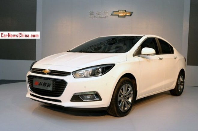 New Chinese Chevrolet Cruize is Naked from all Sides in China