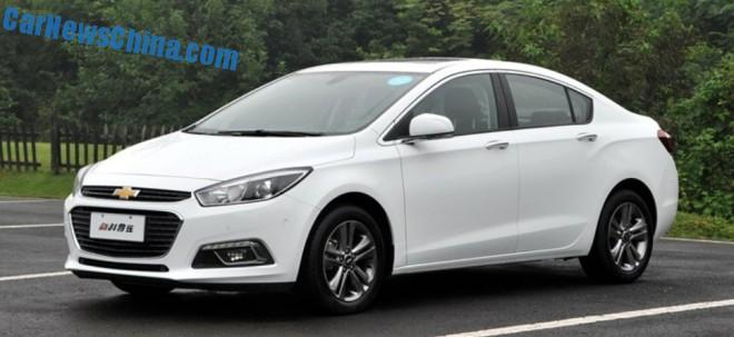 Chinese Chevrolet Cruze hits the Chinese car market