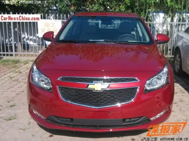 Spy Shots: Chevrolet Cruze Classic is Ready for the Chinese car market