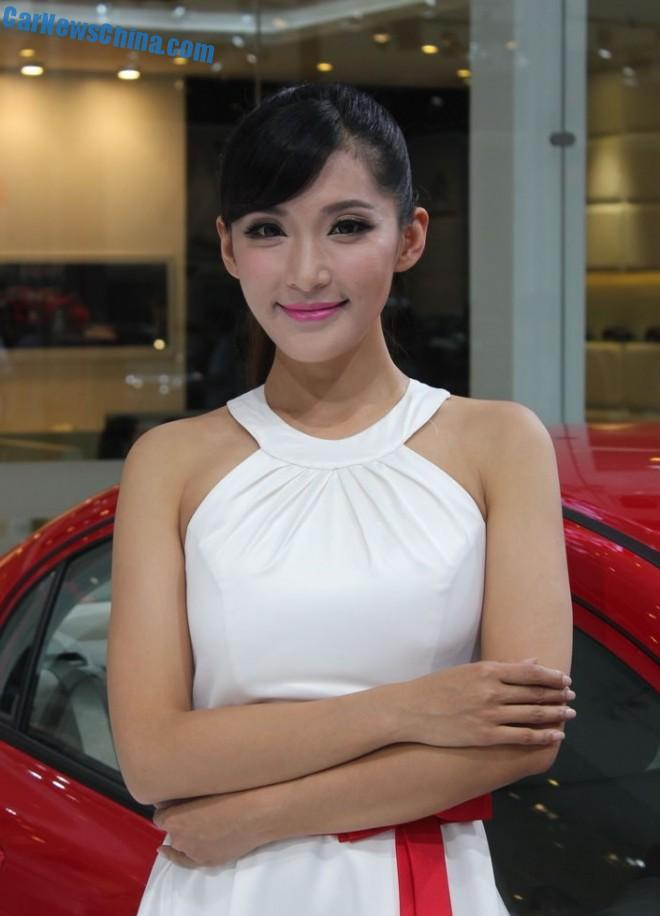 The China Car Girls of the 2014 Chengdu Auto Show