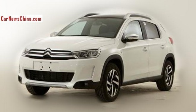 Leaked: official photos of the Citroen C3-XR SUV for China