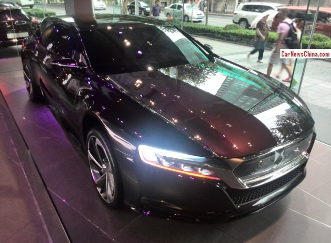 Spotted in China: Citroen DS Numero 9