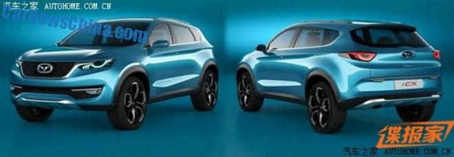 Leaked: Cowin i-CX SUV concept