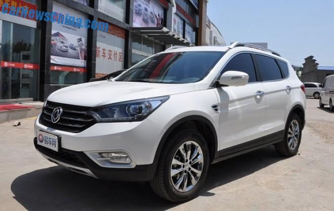 Dongfeng Fengshen AX7 arrives at the Dealer in China