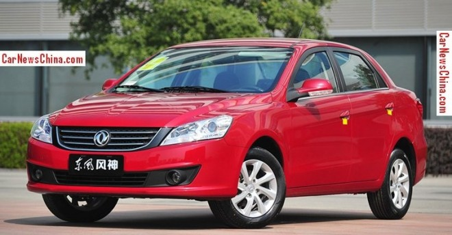 Dongfeng Fengshen working on Four New Cars for the Chinese auto market