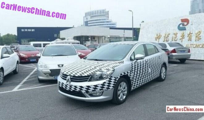 Spy Shots: Dongfeng Fengshen L60 for the Chinese car market