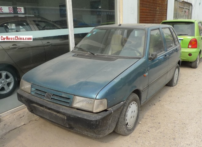 Spotted in China: Fiat Uno 70S