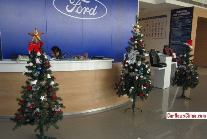 It is always Christmas for Ford in China