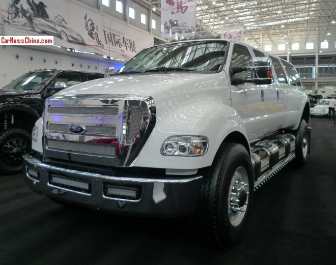 China Super Car Super Spot: Ford F-650 Supertruck