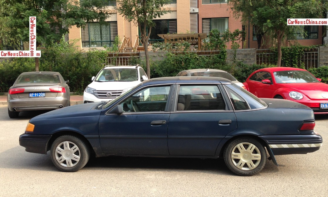 Spotted In China Ford Tempo Gl Sedan Carnewschina Com
