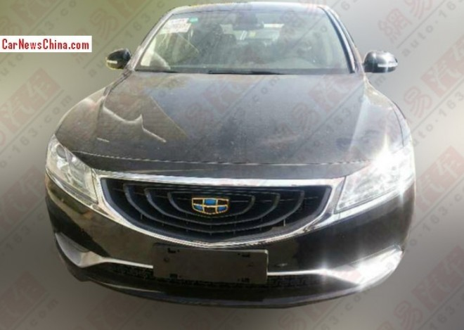 Spy Shots: Geely Emgrand EC9 sedan seen testing in China