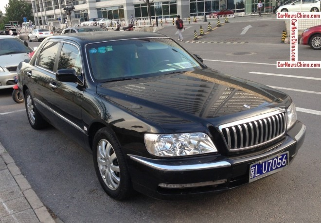 Spotted in China: Hyundai Equus JS 350