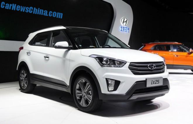 Spy Shots: Hyundai ix25 SUV is Naked from all Sides in China
