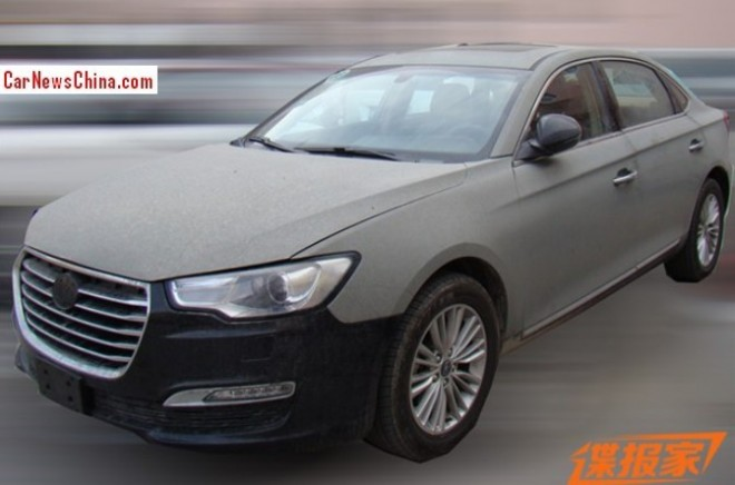 Spy Shots: JAC Refine A6 sedan is testing in China