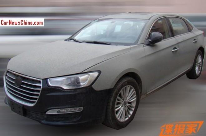 Spy Shots: JAC Refine A6 sedan is testing in China