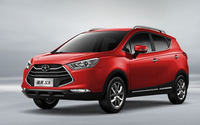 Official Photos of the new JAC Refine S3 for the Chinese auto market