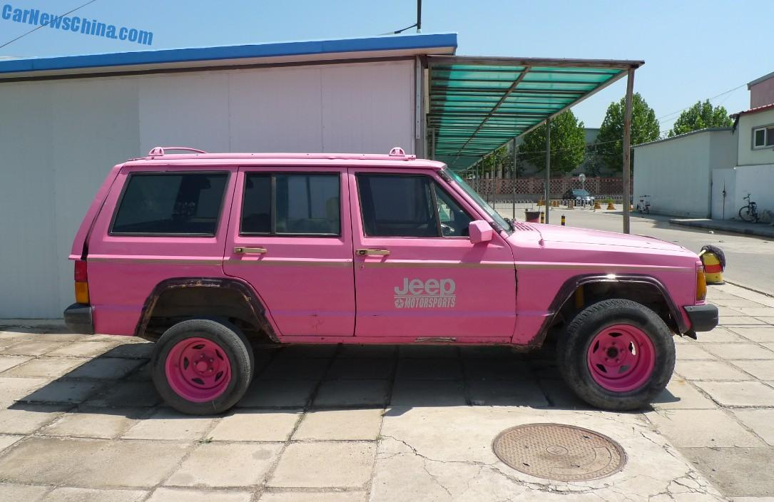 Beijing Jeep Cherokee Is Pink In China Carnewschina Com