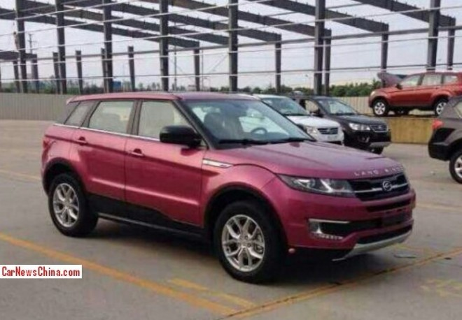Spy Shots: the Landwind E32 'Chinese Evoque' is Ready for the China car market