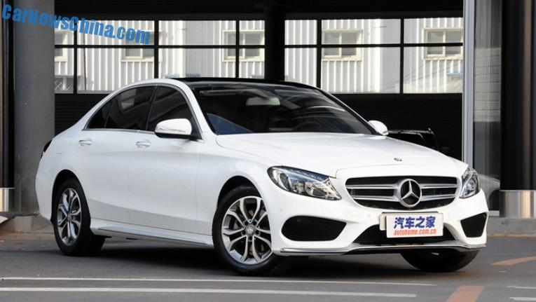 Mercedes benz c class l hits the chinese auto market for Mercedes benz china