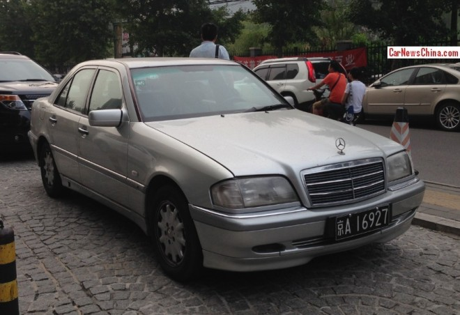 Spotted in China: W202 Mercedes-Benz C-Class times Two