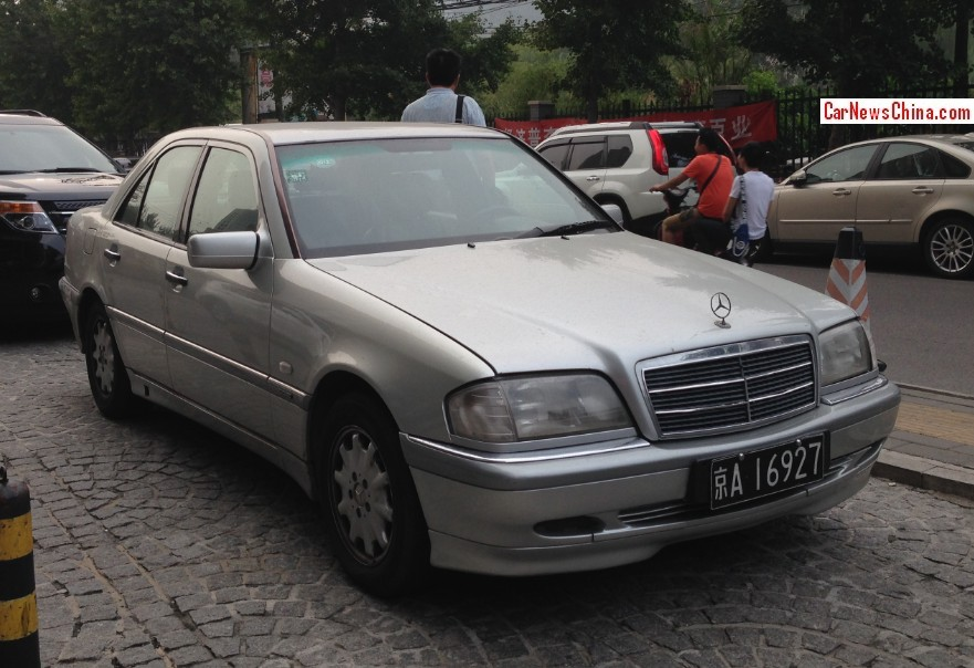 Spotted in china w202 mercedes benz c class times two for Mercedes benz c class w202