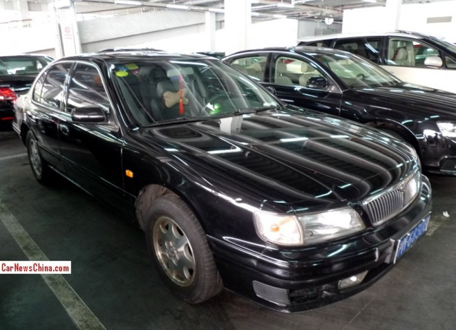 Spotted in China: A32 Nissan Cefiro 3.0 V6