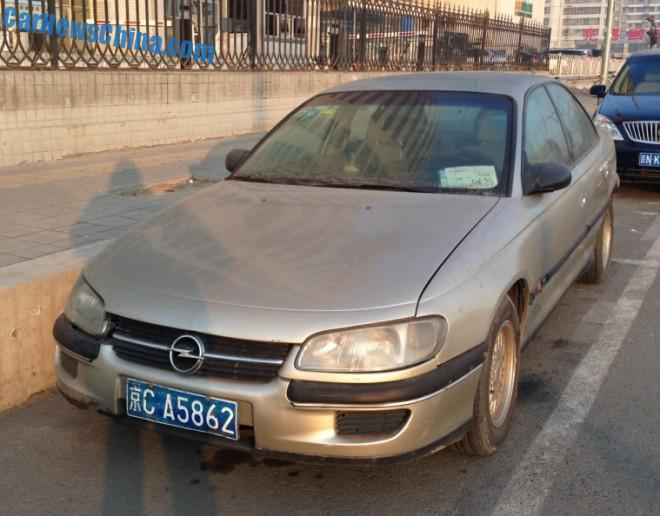 Spotted in China: Opel Omega 2.0 GL