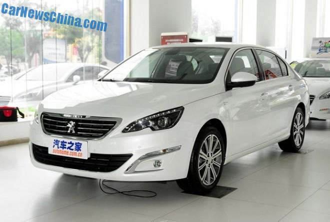 Peugeot 408 sedan launched on the Chinese auto market