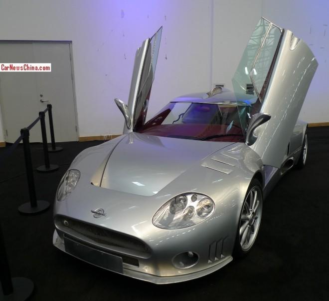 China Super Car Super Spot: Spyker C8 Double 12 S