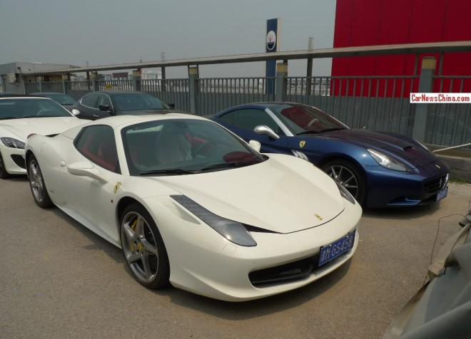 Visit to a Ferrari & Maserati Supercar Parking Lot in China