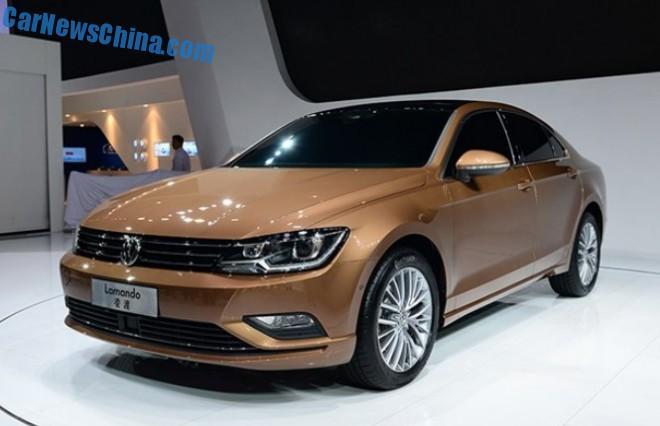 Volkswagen Lamando debuts in China on the Chengdu Auto Show