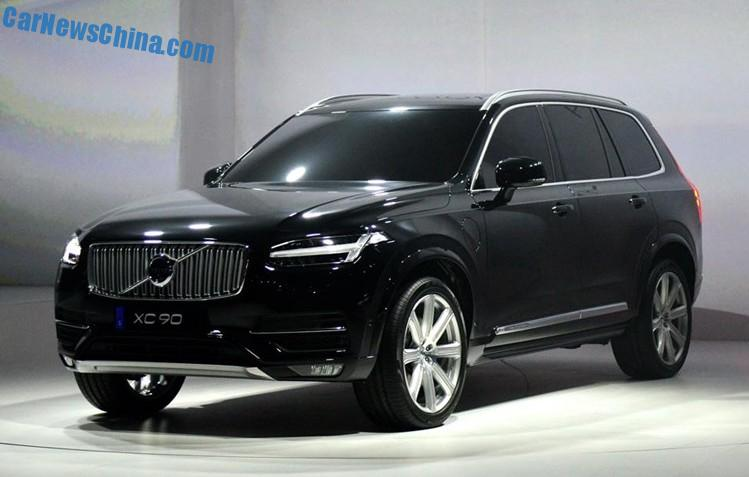 2015 Volvo XC90 unveiled in Sweden - CarNewsChina.com