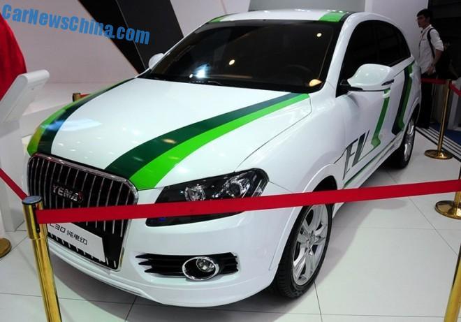 Yema C30 EV debuts on the Chengdu Auto Show in China