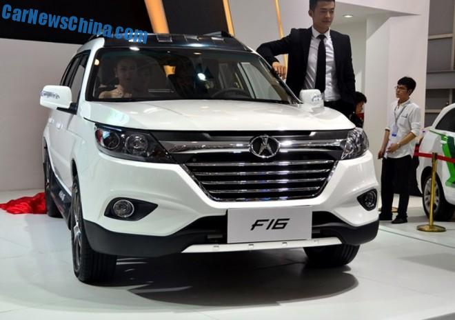 Yema F16 SUV debuts in China on the Chengdu Auto Show