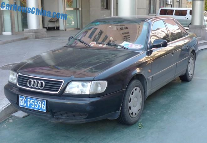 Spotted in China: first generation Audi A6