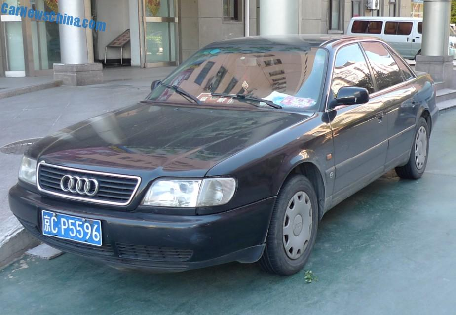 spotted in china: first generation audi a6 - carnewschina, Wiring diagram