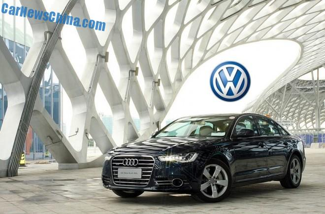 Volkswagen to build China-only luxury sedan based on Audi A6L