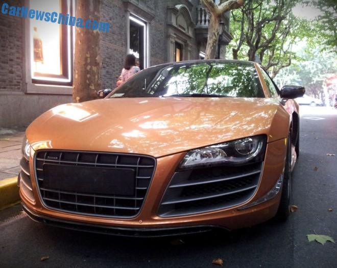 Spotted in China: Audi R8 Limited Edition