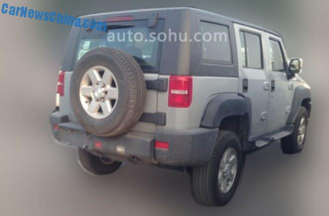 Spy Shots: Beijing Auto B70 seen testing in China
