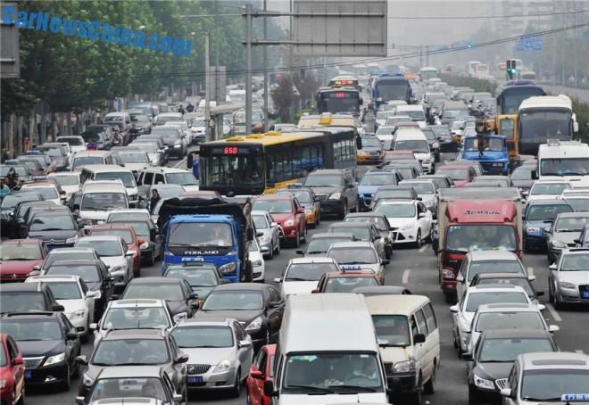 Price for Traffic Jams in Beijing: $11.2 Billion a Year