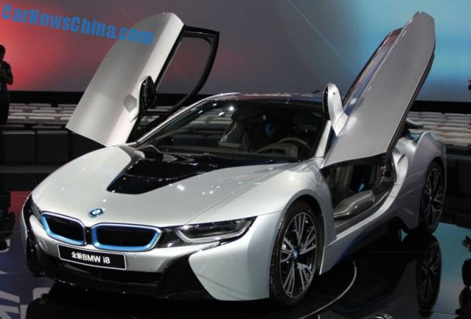 BMW i8 launched on the China car market