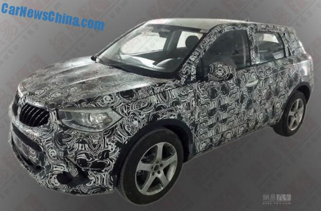 Spy Shots: Brilliance V3 SUV is getting Ready for the China car market