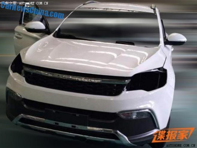 Spy Shots: Changfeng Liebao Q5 for the Chinese car market