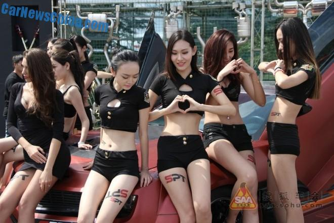 The Girls of the China Auto Salon in Shanghai, Part 2