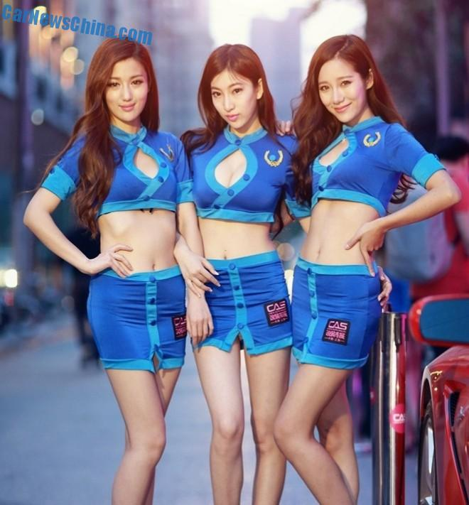 The Girls of the China Auto Salon in Shanghai