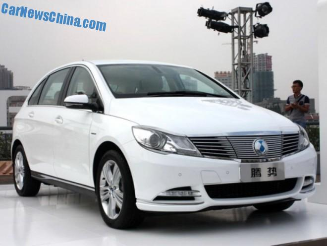 BYD-Daimler Denza EV launched on the Shanghai car market in China